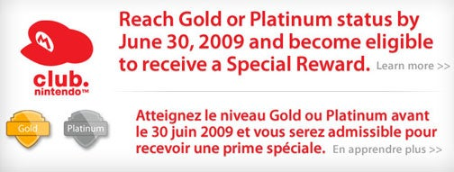 Reminder: About Your Club Nintendo Status