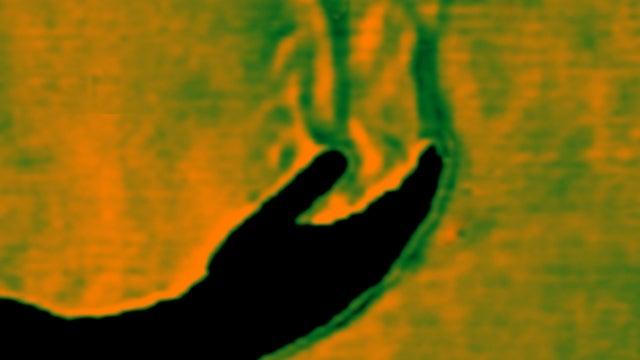 "The scientific secret of ""aura"" photography"