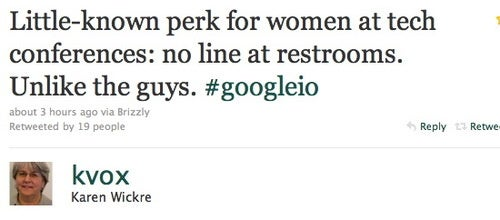 Bathroom Humor Sweeps Google Conference
