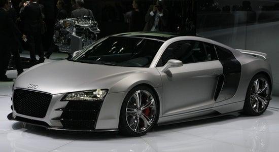 Detroit Auto Show: Audi R8 V12 TDI Live
