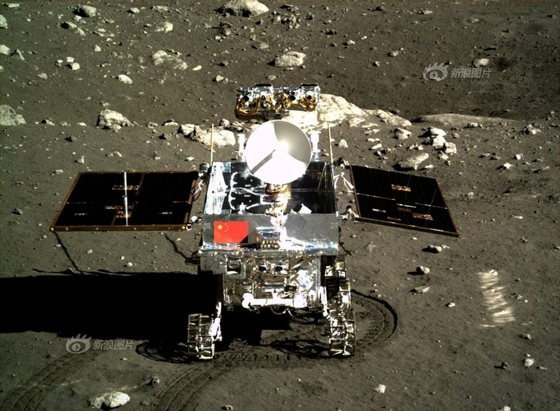 China's Moon Rover Snaps a View of Earth We Haven't Seen in 40 Years