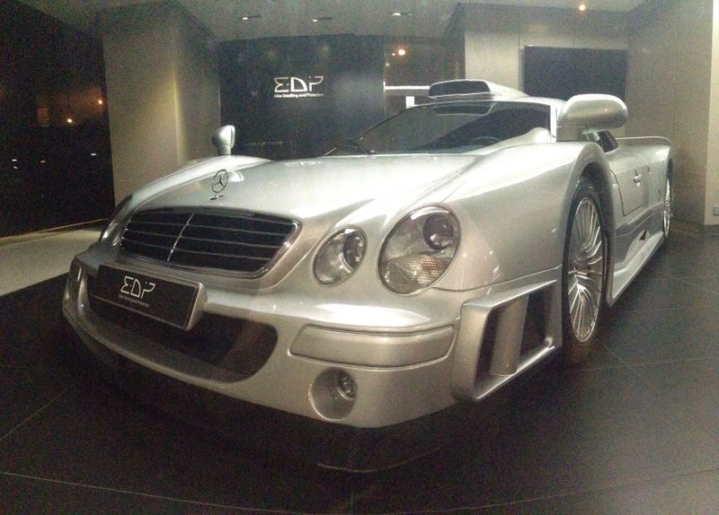 GUESS WHO JUST SAW A CLK GTR