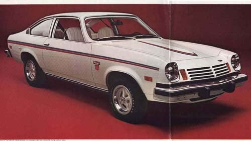 Or You Could Drive The Spirit Of America '74 Vega