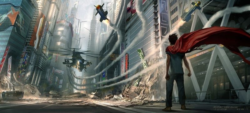 Joseph Gordon-Levitt Is Tetsuo In Concept Art From Live-Action Akira