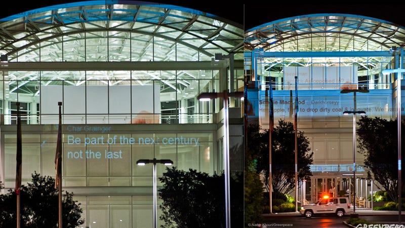 Greenpeace Invades Apple's Headquarters