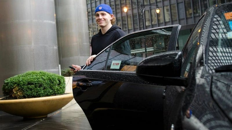 Patrick Kane Successfully Completes Taxi Ride