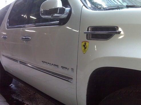 Secret GM-Ferrari Merger Confirmed By NYC Street Spotting