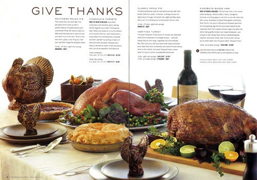 Dean & Deluca Thanksgiving: Mouth-Watering, Wallet-Emptying