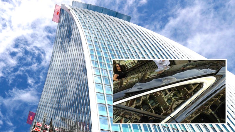 London's Newest Skyscraper Is Melting Cars Parked Near It