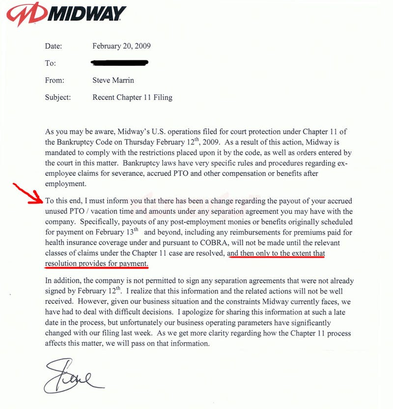 Midway Looking to Offload Mortal Kombat, Screwing Former Employees