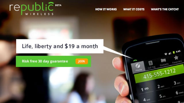 Republic Wireless Offers Unlimited Calls, Text, and Data for a Rock-Bottom $19 a Month