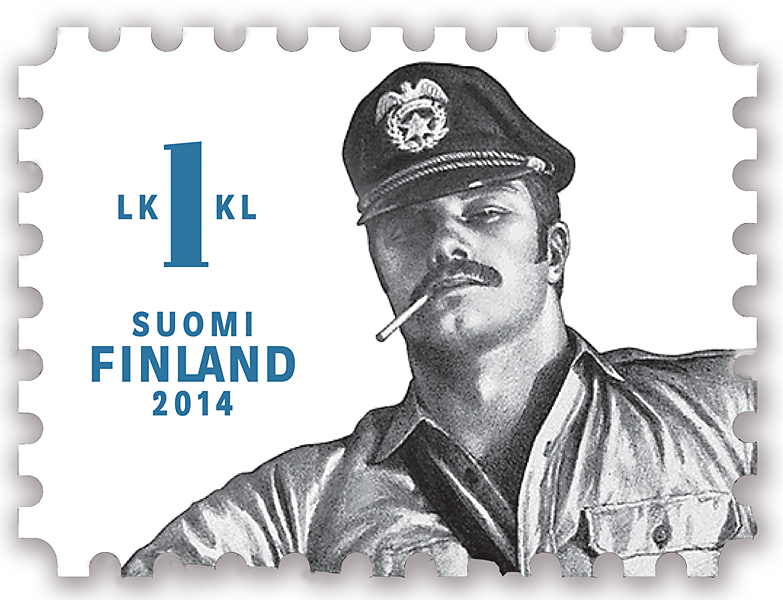 Finland's New Stamps are Drawings of Gay Bondage Porn