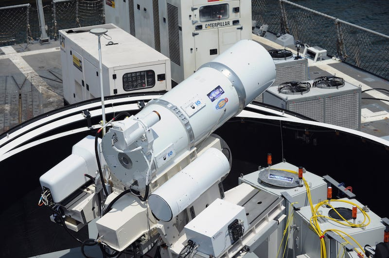 The US Navy is finally deploying giant lasers