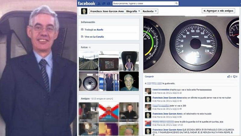 Driver of Derailed Train Boasted on Facebook About Going Really Fast