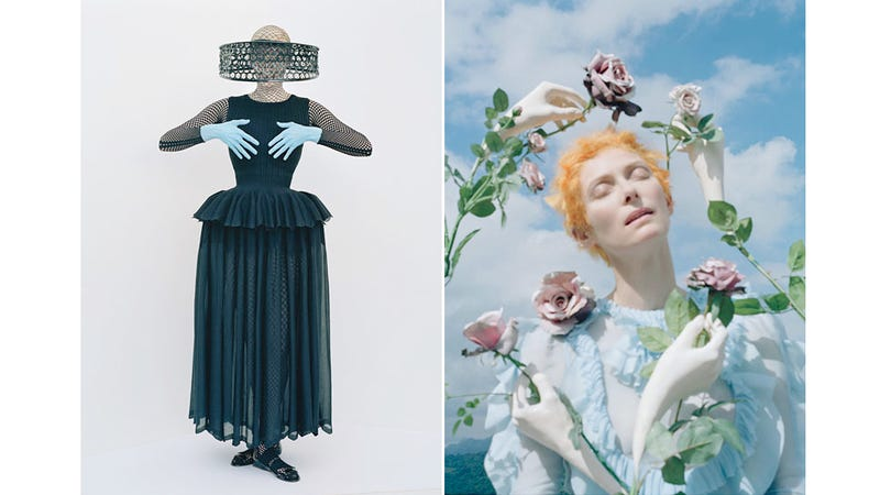 Tilda Swinton Poses For Magical Mexican Surrealist Magazine Spread