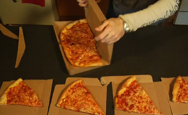 World's Most Intelligent Pizza Box Design Separates Into Plates, Stores Your Leftovers