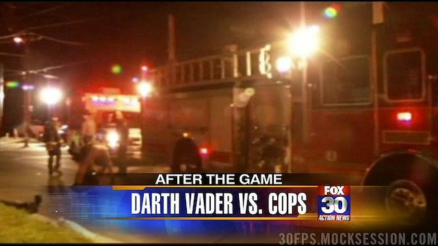 Darth Vader Defeated A Taser But Succumbed To Pepper Spray In Orlando Last Week
