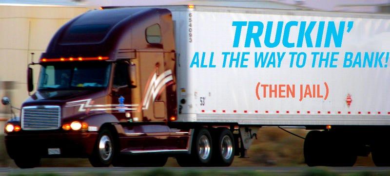 Trucker Stole $6 Million In Nine-Year Long Con