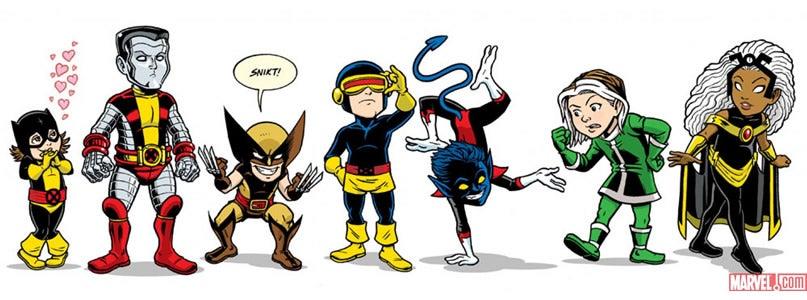 Marvel Resurrec... X Babies