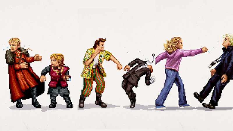 Pop Culture's Greatest Hits, Now In Pixelated Form