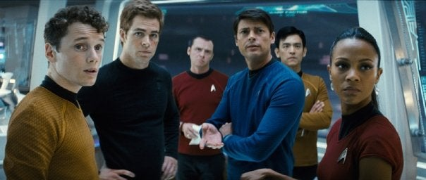 New Star Trek Teaser Shows Kirk As A Stud With Cheesy Pickup Lines
