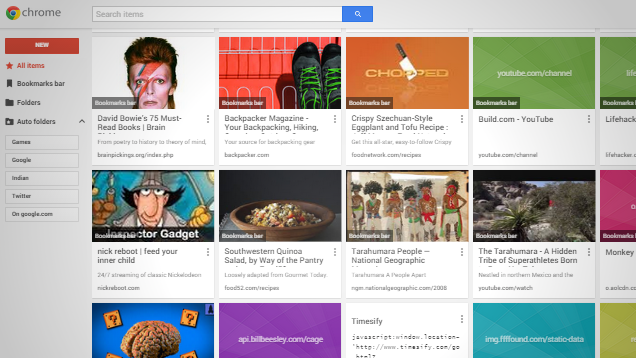 Google Gives Bookmarks an Overhaul with Bookmark Manager for Chrome