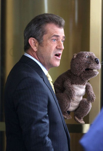 Moviegoers Don't Want To See Mel Gibson's Hand Puppet