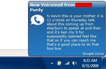 Turn Google Voice into a Growl-Friendly Windows App