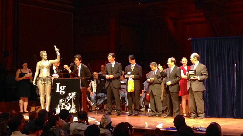 Penis reattachment, and other winners from the 2013 Ig Nobel Awards