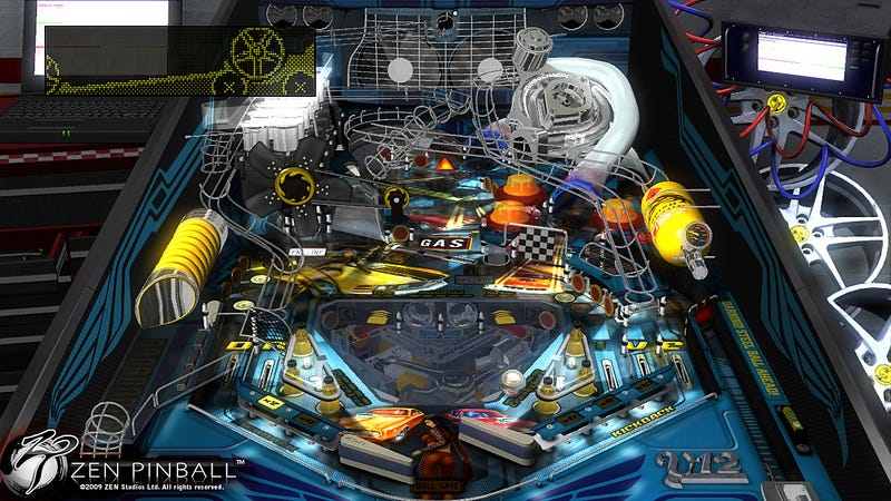 Zen Pinball Launching With Free PSN Demo