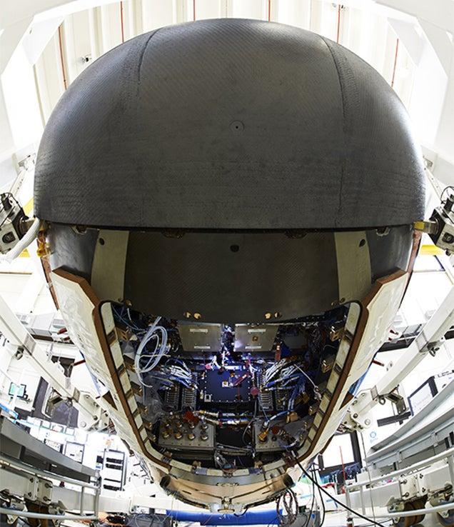 A sneak peek into the guts of the new European Space Shuttle