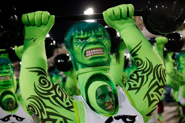 The 7 Geekiest Moments of the 2015 Rio Carnival
