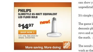 What are you selling here, Home Depot?