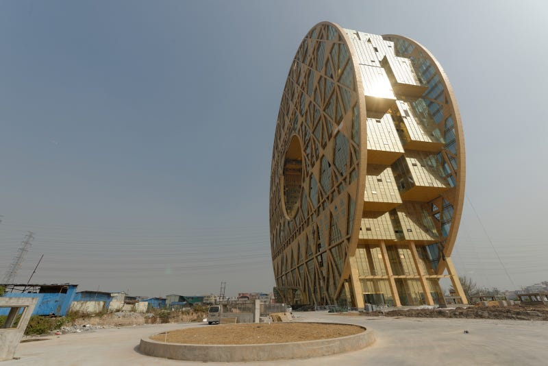 These Brand New Circular Buildings Are Astonishing Feats Of Engineering