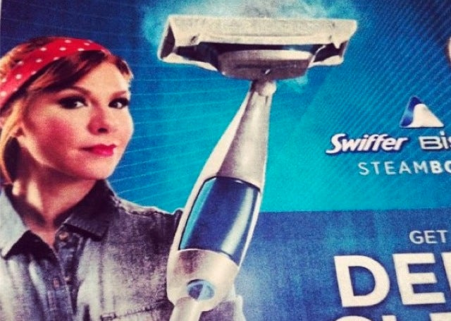 Swiffer Turns Rosie the Riveter Into a Maid, Surprised at Backlash