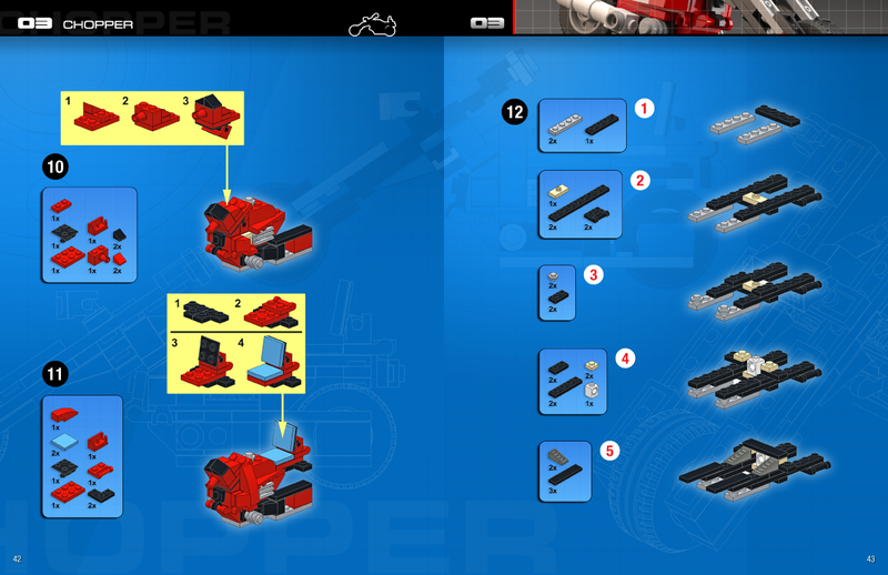 Build Your Own LEGO Easy Rider