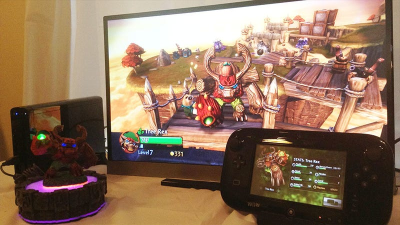 Skylanders Giants Has a Little Something Extra on the Wii U