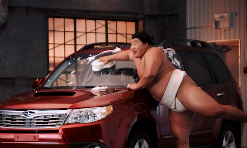 Subaru Wants You To Make Sumos Sexy, Take Shots Of Forester
