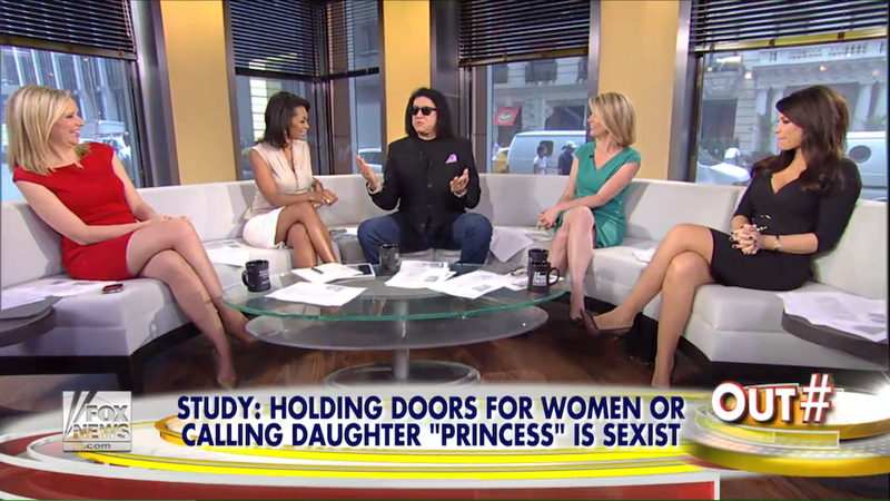 Gene Simmons Says Sad Little Things About Sexism