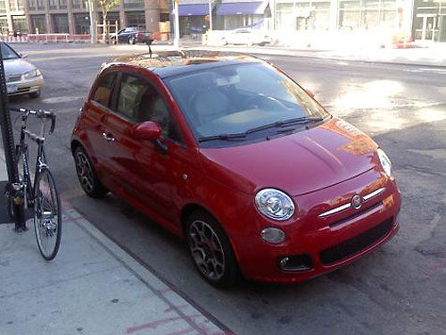 Fiat 500: A Little Italy In New York