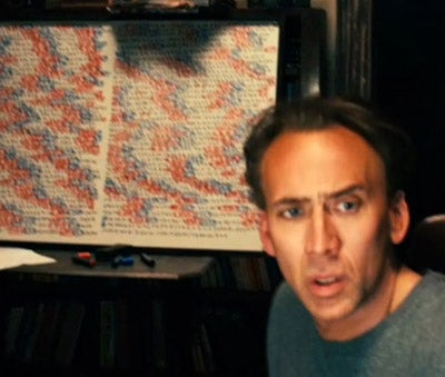 Nicholas Cage Sees Your Fate — Thanks To Science!