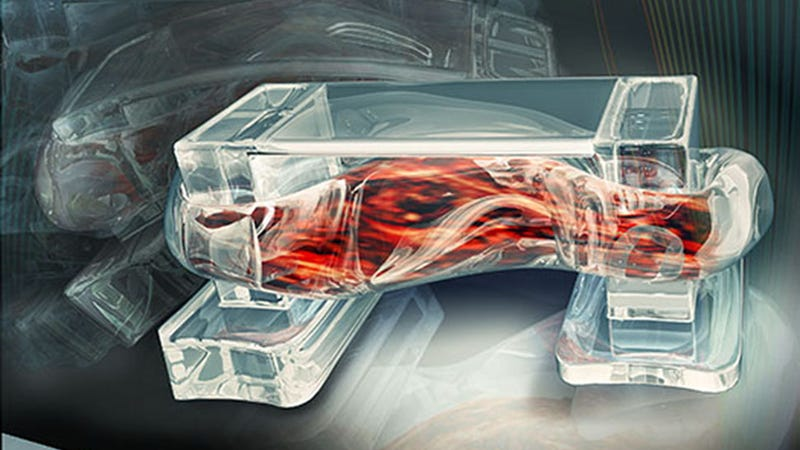 Bio-Bots Powered By Real Muscle Can Walk On Command