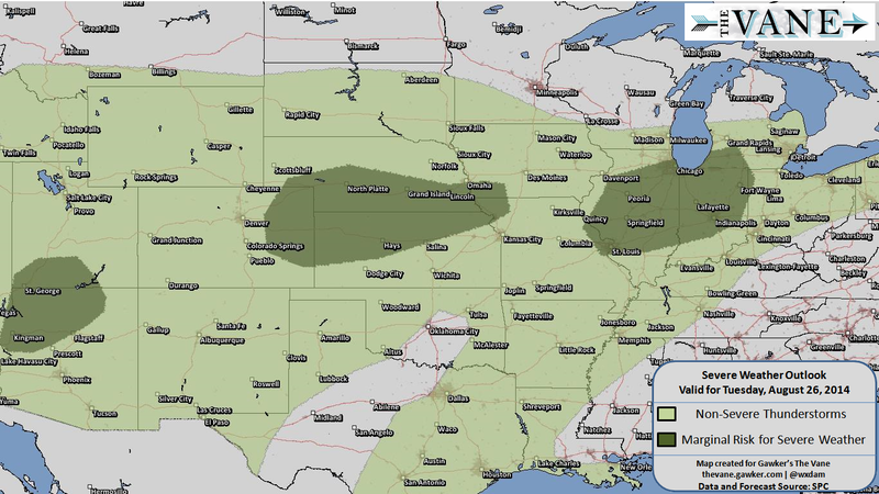 These Ridiculous Severe Weather Maps Won't Stick Around Much Longer
