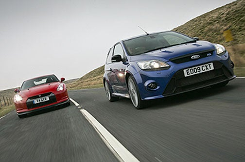 "Ford Focus RS Tops Nissan GT-R In ""Real World"" Test"