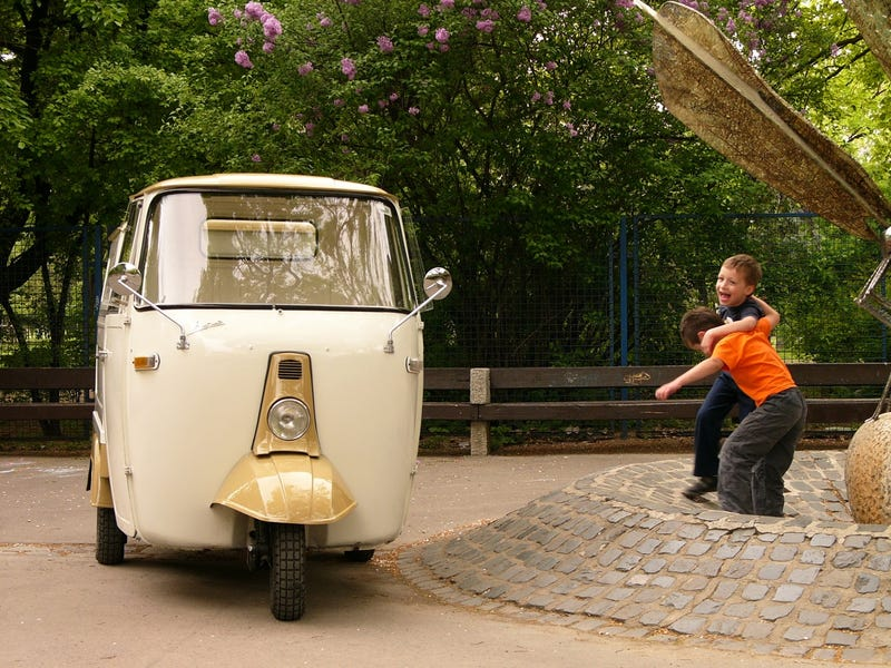 The Piaggio Ape: Buzzing About in Europe's Cutest Truck