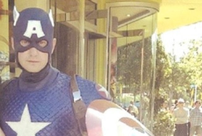 Captain America Arrested for Sending Dick Pics to a Teenage Girl