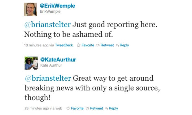 NYT Twitter Hero 'Pulls a Weiner'
