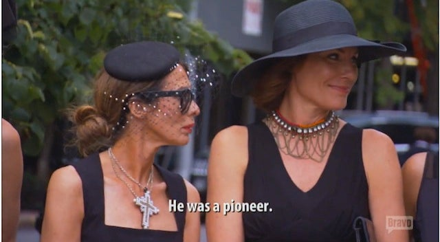 Real Housewives of NY Gives Us Gay Pet Funeral, Surprise Elderly Penis