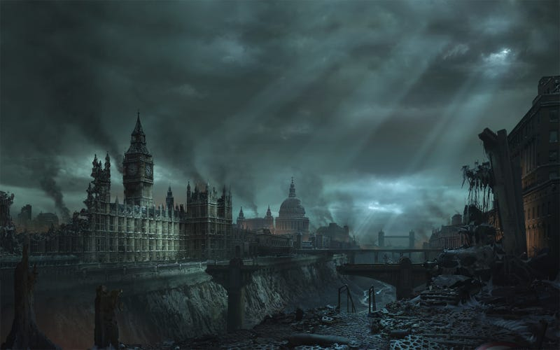 See the World's End with These Wallpapers of Post-Apocalypstic Ruins