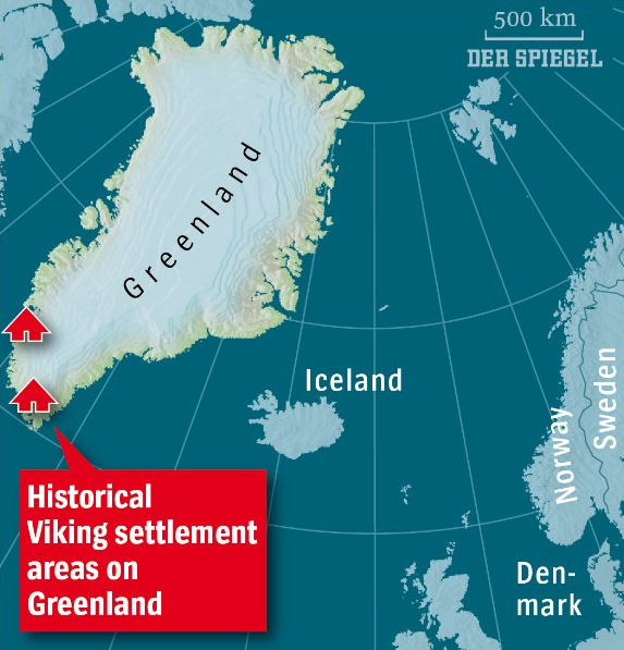 Why did the Vikings abandon Greenland?